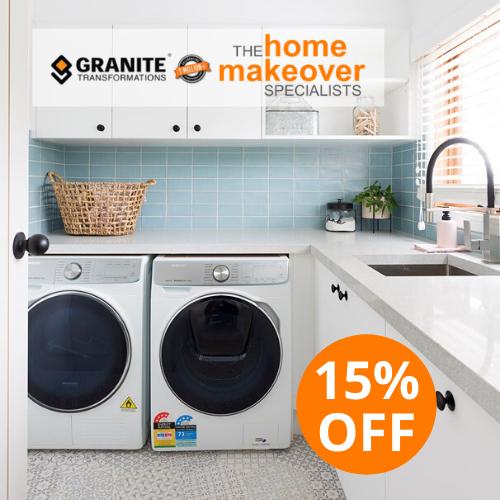 15% off laundry renovation makeover sale july 2020 sydney