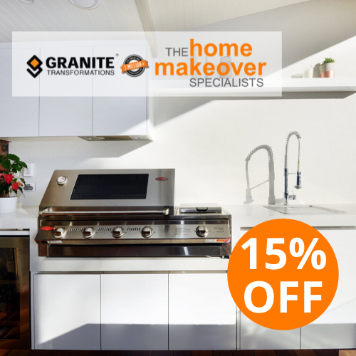 15% off outdoor kitchen sale July 2020 Sydney