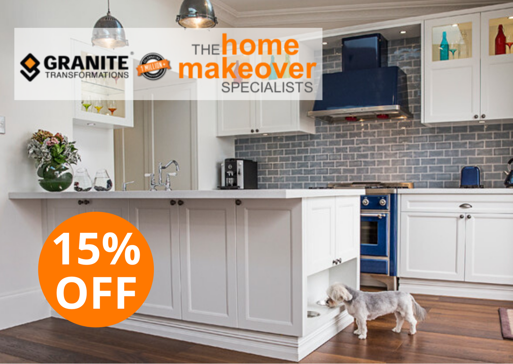 15% off sale kitchen renovation with free inbuilt pet bowls feeding station