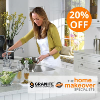 20% Off Kitchen Bathroom Renovation Sale in June Granite Transformations Sydney Caringbah Eastern Suburbs, Inner West